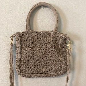 Vintage Macrame Handbag / Purse